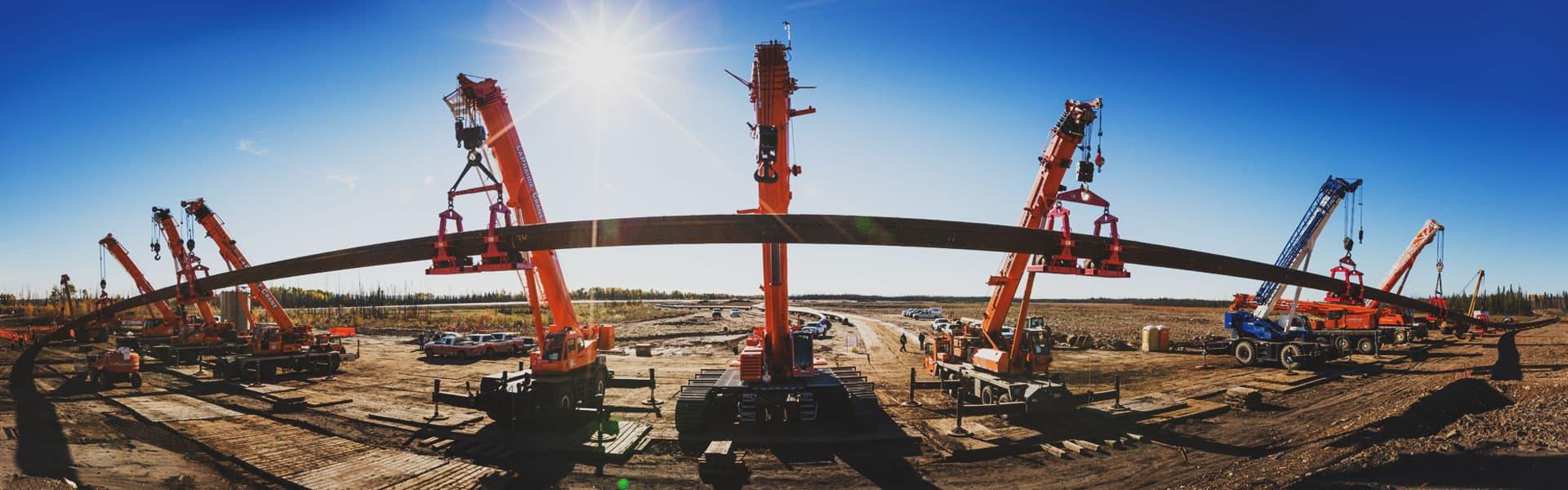 Calgary crane rentals