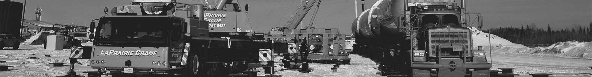 Winnipeg crane service company