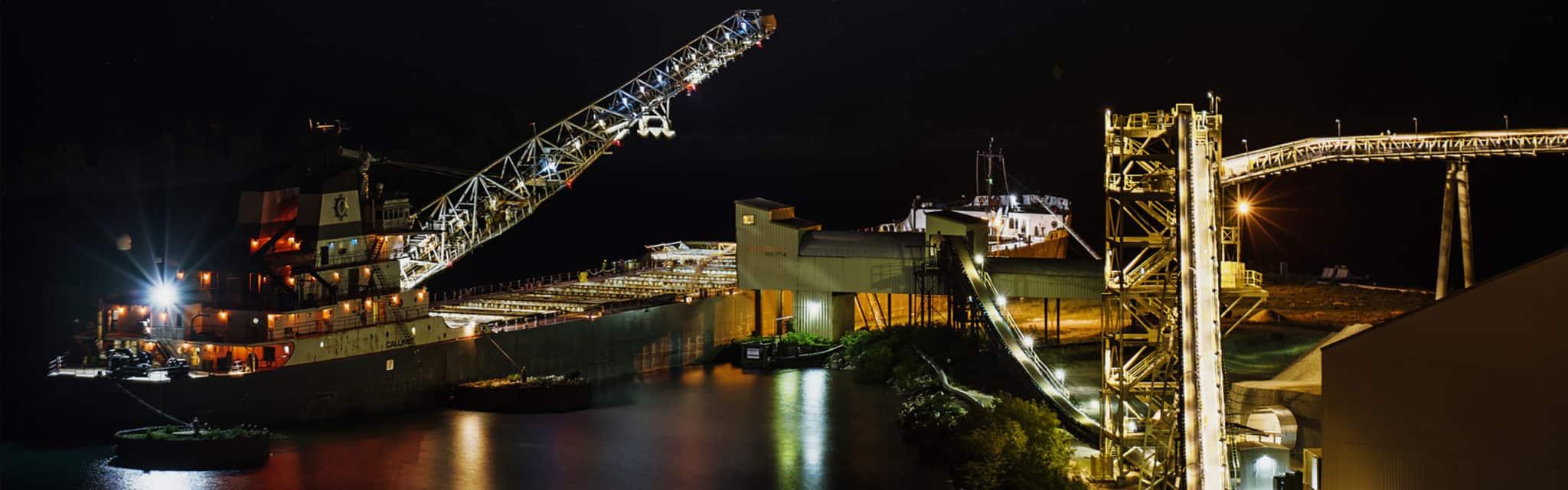 Foundry Sand, Construction Aggregates & Industrial Minerals in Brevort, MI